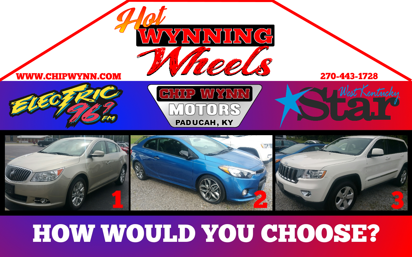 Chip Wynn's Hot Wynning Wheels - Car Giveaway